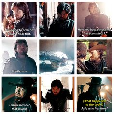 Quotable Athos, the Musketeers voice of reason.