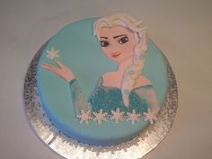 Gâteau Elsa reine des neiges