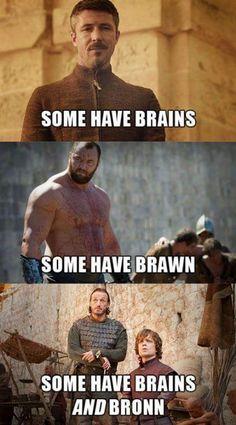 Petyr Baelish, Gregor Clegane, Bronn & Tyrion Lannister