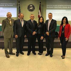 Seminario sobre el efecto de PROMESA en los procesos judiciales de Puerto Rico en la Academia Judicial.