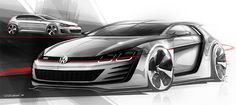 Volkswagen Unveils Design Vision GTI Race Car at Worthersee. #VolkswagenCars