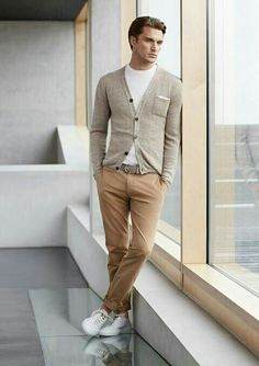 Casual earth tone fit #casual #fall #mens #stylish #blogger #style…