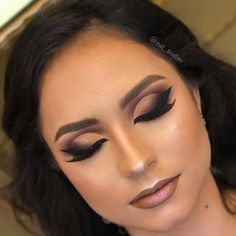21 Trendy Ideas For Eye Makeup Halloween Cut Crease Eye Makeup Tips, Smokey Eye Makeup, Beauty Makeup, Hair Makeup, Smoky Eye, Red Eyeliner, Gorgeous Makeup, Love Makeup, Makeup Looks