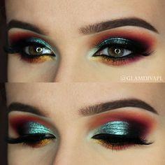 Fire Outside Makeup Tutorial | Makeup Geek - http://doctorforlove.net/fire-outside-makeup-tutorial-makeup-geek