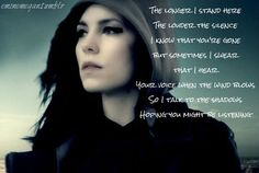 Words by Skylar Grey - one of my all time fav songs!!