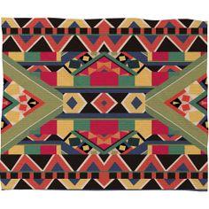 Bianca Green Bold Fleece Throw Blanket | DENY Designs Home Accessories