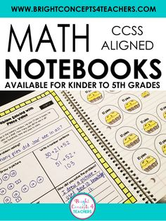 I have been using interactive math notebooks in my classroom for several years. Math notebooks are a great tool for students to take notes, model their understanding, and practice new skills. They are perfect to use for homeschooling, direct instruction and guided practice, in small groups or as a whole class.… #brightconcepts4teachers #interactivenotebooks #mathtools