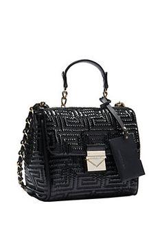 Versace - Patent Couture Small Handbag