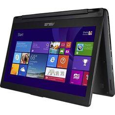 """Sale Preis: Asus Q302LA-BBI5T14 13.3"""" Touch-Screen Convertible Laptop - Intel Core i5-4210U 8GB 500GB Windows 8 - Black (Certified Refurbished). Gutscheine & Coole Geschenke für Frauen, Männer & Freunde. Kaufen auf http://coolegeschenkideen.de/asus-q302la-bbi5t14-13-3-touch-screen-convertible-laptop-intel-core-i5-4210u-8gb-500gb-windows-8-black-certified-refurbished"""