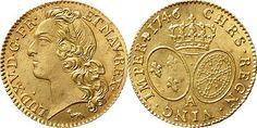 France/Bourbon Kings AV Louis d'or au bandeau 1746-A Paris Mint Louis XV 1715-74
