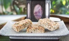 Healthy muesli bar - this fast, healthy treat is a perfectly nutritious snack or lunch box filler.