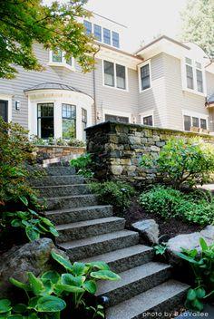 Marsh Road Granite Steps