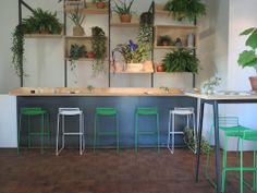 Hee Stool // Completely re-designed Cafe Edel | #Amsterdam
