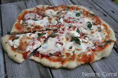 Homemade Tomato, Basil, & Goat Cheese Pizza // Making it tonight!