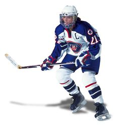 Cammi Granato...one of the few women in the Hockey Hall of Fame