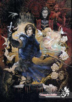 "vaishino: "" amazingmumbo: "" Illustrations by Ayami Kojima "" Castlevania, how'd you get so bishy? Gothic Fantasy Art, Gothic Anime, Gothic Horror, Arte Horror, Fantasy Artwork, Dark Fantasy, Castlevania Wallpaper, Castlevania Anime, Estilo Dark"
