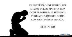 pregate in ogni tempo, per mezzo dello Spirito, con ogni preghiera e supplica; vegliate a questo scopo con ogni perseveranza. Pregate per tutti i santi, e anche per me, affinché mi sia dato di parlare apertamente per far conoscere con franchezza il mistero del vangelo,   #Ebrei #Efesini #salvezza #stranieri