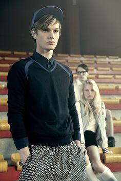 "Dane Carlsen in ""High School Detention"" by Alek Pierre for Fashionisto Exclusive."