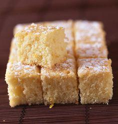 Gâteau léger au citron - Recettes de cuisine Ôdélices