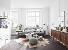 Donkere vloer - lichte kamer