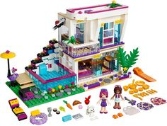 LEGO Friends 2016   41135 - Livi's Pop Star House #lego #legofriends #legofriends2016