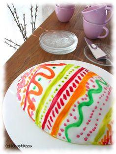 Pikku-Kinuskien pääsiäismunakakku | Reseptit | Kinuskikissa