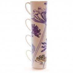 Gillian Arnold Fennel Canopy Stacking Mug Set