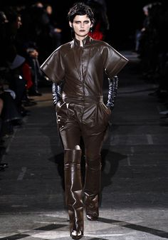Givenchy A/W 12-13 Milk Chocolate Leathery goodness