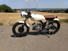 Bild Simson Moped, Custom Moped, Motorcycle Helmets, Scrambler, Bobber, Mopeds, Cafe Racers, Vehicles, Motorcycles