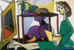 Pablo Picasso / Deux femmes / 1935 / The Museum of Modern Art, New York