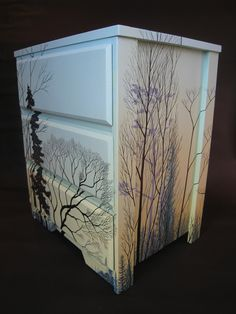 hand painted one of a kind dresser..love it!!