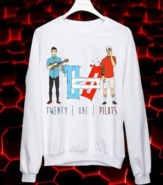 TWENTY ONE PILOTS sweater/longsleeved/sweatshirt. by manisgulo