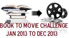 BookToMovie Reading Challenge