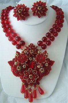 Ian St Gielar Stanley Hagler Necklace & Earring Set