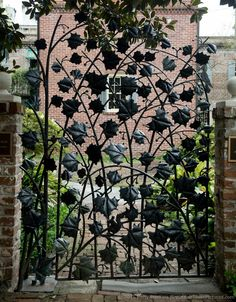 Wrought Iron Gate, Savannah, Georgia © 2015 Patty Hankins