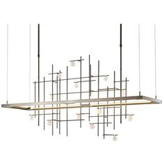 Hubbardton Forge Spring Led Pendant Burnished Steel By (35,480 CNY) ❤ liked on Polyvore featuring home, lighting, ceiling lights, lighting fixtures, steel lamp, hubbardton forge, hubbardton forge lighting and hubbardton forge lamps