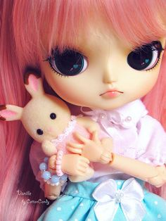 Vanille & Fuffy Puffy by CottonCandy♥  #doll #dal #sylvanianfamilies #cute