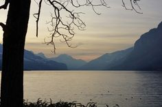 Walensee Celestial, Mountains, Sunset, Nature, Travel, Outdoor, Outdoors, Naturaleza, Viajes