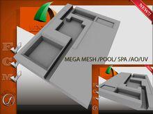 Mega Pool Spa Uv/Ao Full perm 10 impact