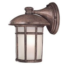 View the The Great Outdoors GO 8253-PL 1 Light Light Outdoor Wall Sconce from the Cranston Collection at Build.com.