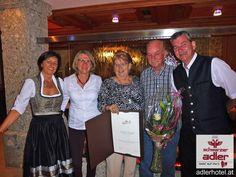 Treue Gäste im Hotel Schwarzer Adler in Nauders Loyalty, Eagle, Black Man