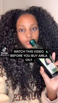 Curly Hair Tips, Curly Hair Care, Curly Hair Styles, Natural Hair Growth Tips, Natural Hair Styles, Amla Powder Hair, Hair Growing Tips, Hair Secrets, Matte Nails