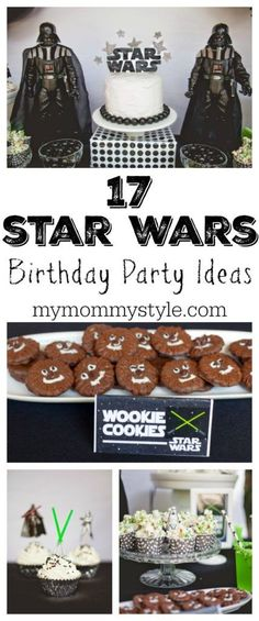 17 Star Wars Birthday Party Ideas for your next Star Wars party! This is such a cute idea! I love the light saber kabobs!