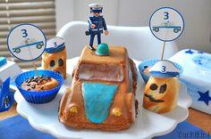 Alles für den Polizei-Geburtstag mit Vorlagen zum Ausdrucken. Kinderparty