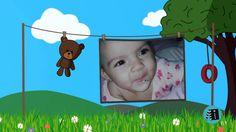 Slideshow Infantil 2, estilo varal - Anderson Imagem