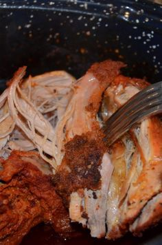 Oven Pulled Pork!  Easy, delicious, and perfect for a crowd!