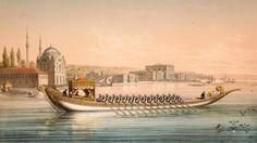 Imperial barge used by the Ottoman Sultan, Istanbul, Saltanat kayığı, İs… Ottoman Turks, Islamic Paintings, Egypt Art, Jean Baptiste, Oriental, Ottoman Empire, Historical Pictures, Moorish, Istanbul Turkey