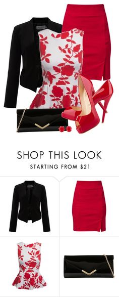 Vivian by jeanean-brown on Polyvore featuring Soaked in Luxury, Pier 1 Imports, ALDO, Brooks Brothers and Christian Louboutin