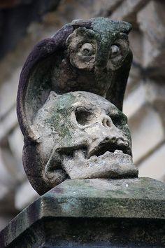 Cementerio de Polloe, San Sebastián, Spain by Angel Armendariz