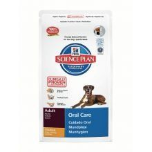 buy now   £20.49   Hill's Science Plan Canine Adult Oral Care Chicken is clinically proven to reduce plaque and tartar. With antioxidants and advanced oral care technology. Key Benefits Clinically proven  ...Read More